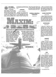 Maritime Reporter Magazine, page 40,  Nov 1986