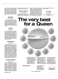 Maritime Reporter Magazine, page 43,  Nov 1986 California