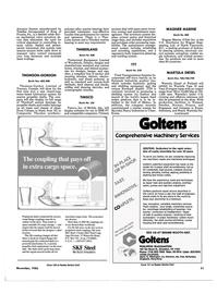 Maritime Reporter Magazine, page 47,  Nov 1986