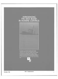 Maritime Reporter Magazine, page 3,  Nov 1986