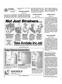 Maritime Reporter Magazine, page 48,  Nov 1986 Quebec