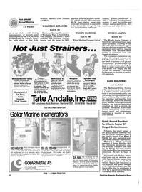 Maritime Reporter Magazine, page 48,  Nov 1986