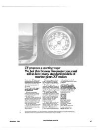 Maritime Reporter Magazine, page 63,  Nov 1986