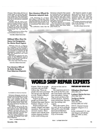Maritime Reporter Magazine, page 71,  Nov 1986