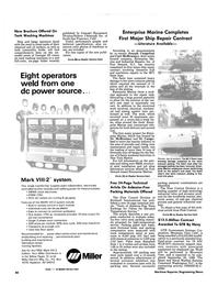 Maritime Reporter Magazine, page 76,  Nov 1986