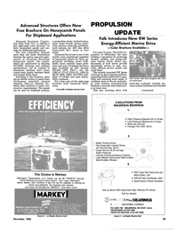 Maritime Reporter Magazine, page 85,  Nov 1986 Test Certificate