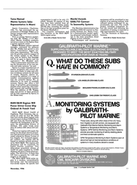 Maritime Reporter Magazine, page 87,  Nov 1986