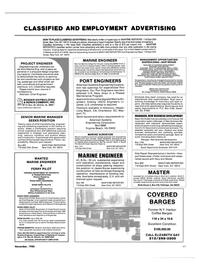 Maritime Reporter Magazine, page 93,  Nov 1986 California