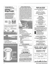 Maritime Reporter Magazine, page 94,  Nov 1986