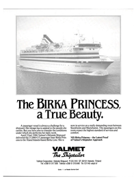 Maritime Reporter Magazine, page 19,  Dec 1986 Valmet Corporation