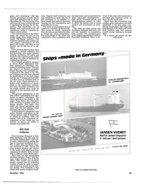 Maritime Reporter Magazine, page 21,  Dec 1986 Martin Jansen Shipyard