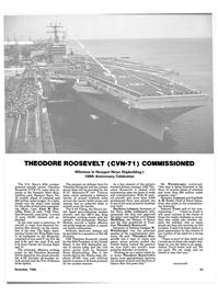 Maritime Reporter Magazine, page 29,  Dec 1986 F/A-18 Hornet