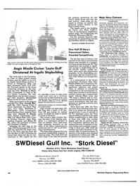 Maritime Reporter Magazine, page 44,  Dec 1986 North Carolina