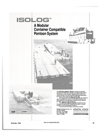 Maritime Reporter Magazine, page 47,  Dec 1986 Robishaw Engineering Inc.