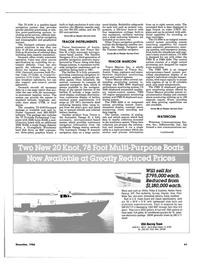 Maritime Reporter Magazine, page 59,  Dec 1986