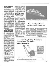 Maritime Reporter Magazine, page 63,  Dec 1986