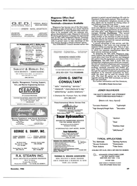 Maritime Reporter Magazine, page 67,  Dec 1986