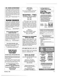 Maritime Reporter Magazine, page 69,  Dec 1986