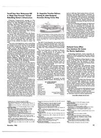Maritime Reporter Magazine, page 75,  Dec 1986