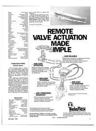 Maritime Reporter Magazine, page 19,  Dec 1987 Powell Valves Leslie