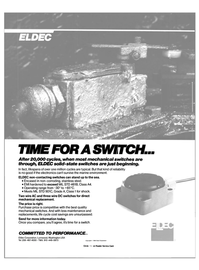 Maritime Reporter Magazine, page 24,  Dec 1987 Eldec Corporation