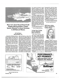 Maritime Reporter Magazine, page 37,  Dec 1987 Connecticut