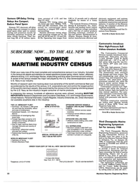 Maritime Reporter Magazine, page 40,  Dec 1987 Siemens Group