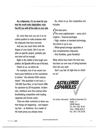Maritime Reporter Magazine, page 45,  Dec 1987 Astilleros Espanoles S.A.
