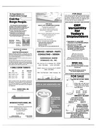 Maritime Reporter Magazine, page 69,  Dec 1987