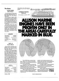 Maritime Reporter Magazine, page 19,  Jan 1988