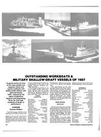 Maritime Reporter Magazine, page 26,  Jan 1988 Compass