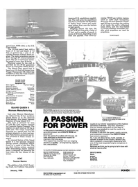 Maritime Reporter Magazine, page 29,  Jan 1988 New York