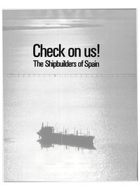 Maritime Reporter Magazine, page 34,  Jan 1988 Spain