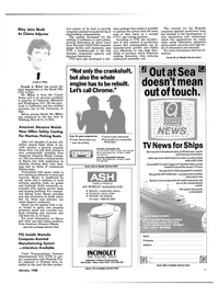Maritime Reporter Magazine, page 49,  Jan 1988 Texas