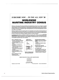 Maritime Reporter Magazine, page 68,  Jan 1988 United Nations