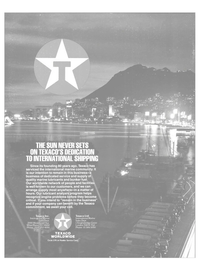 Maritime Reporter Magazine, page 4th Cover,  Jan 1988 Texaco Inc. International