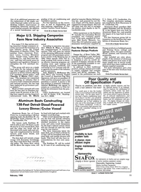 Maritime Reporter Magazine, page 9,  Feb 1988 Council of American-Flag Ship Operators