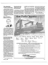 Maritime Reporter Magazine, page 11,  Feb 1988