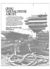 Maritime Reporter Magazine, page 2nd Cover,  Feb 1988