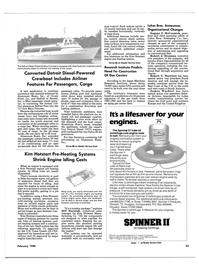 Maritime Reporter Magazine, page 23,  Feb 1988