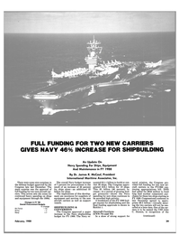 Maritime Reporter Magazine, page 27,  Feb 1988 Department of Defense