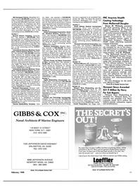 Maritime Reporter Magazine, page 41,  Feb 1988