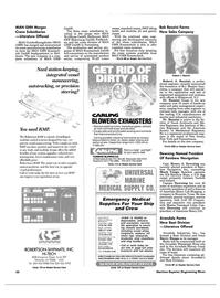 Maritime Reporter Magazine, page 48,  Feb 1988