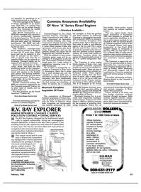 Maritime Reporter Magazine, page 53,  Feb 1988
