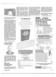 Maritime Reporter Magazine, page 55,  Feb 1988