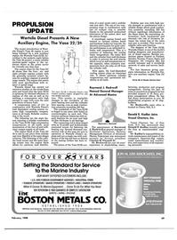 Maritime Reporter Magazine, page 65,  Feb 1988