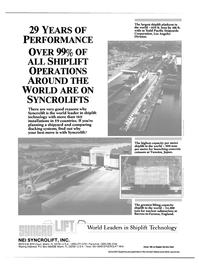 Maritime Reporter Magazine, page 4th Cover,  Feb 1988