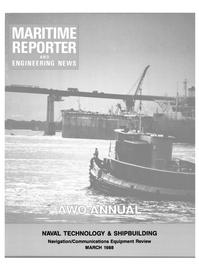 Maritime Reporter Magazine Cover Mar 1988 -