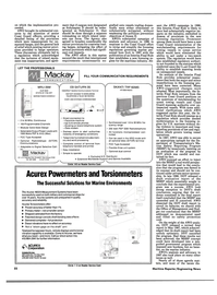 Maritime Reporter Magazine, page 20,  Mar 1988 SATURN 3S INMARSAT