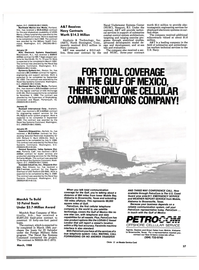 Maritime Reporter Magazine, page 35,  Mar 1988